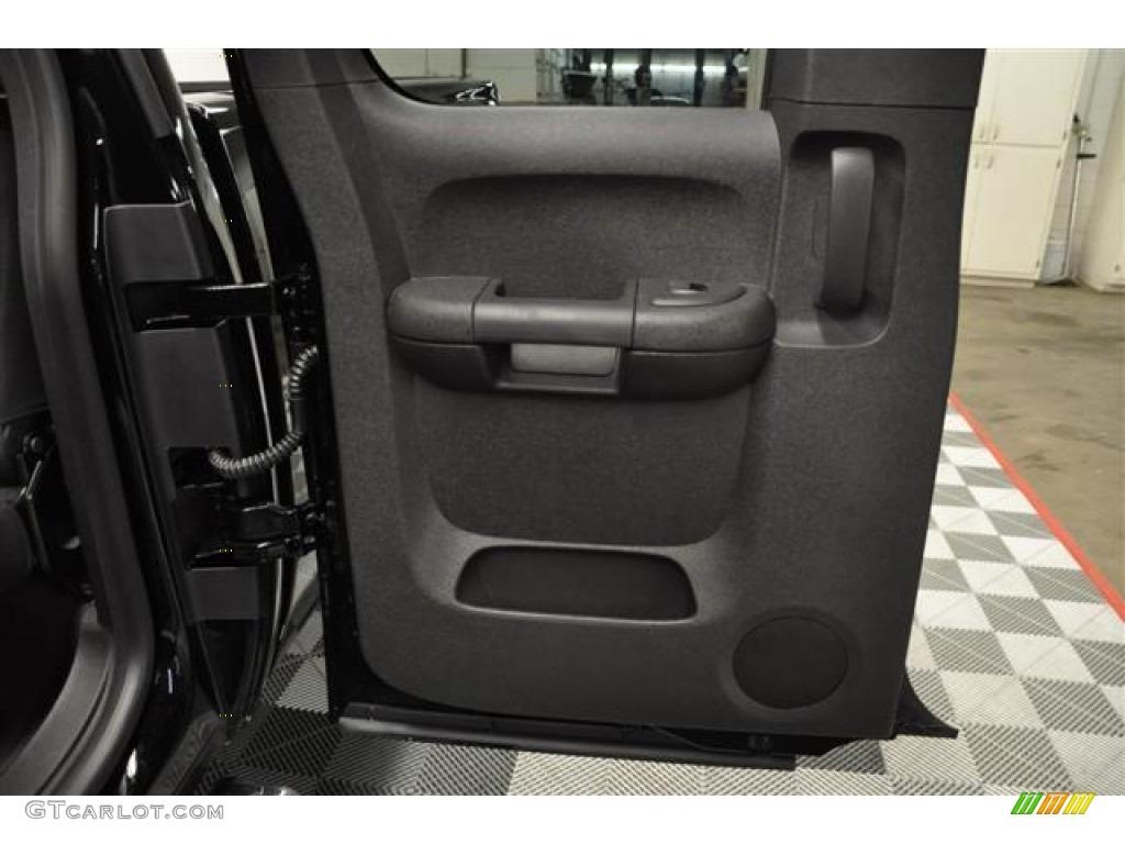 2012 Silverado 1500 LS Extended Cab 4x4 - Black / Dark Titanium photo #8