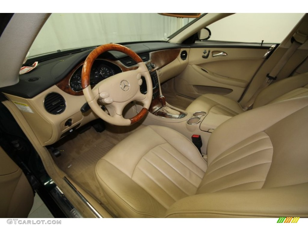 Cashmere Beige Interior 2006 Mercedes Benz Cls 500 Photo