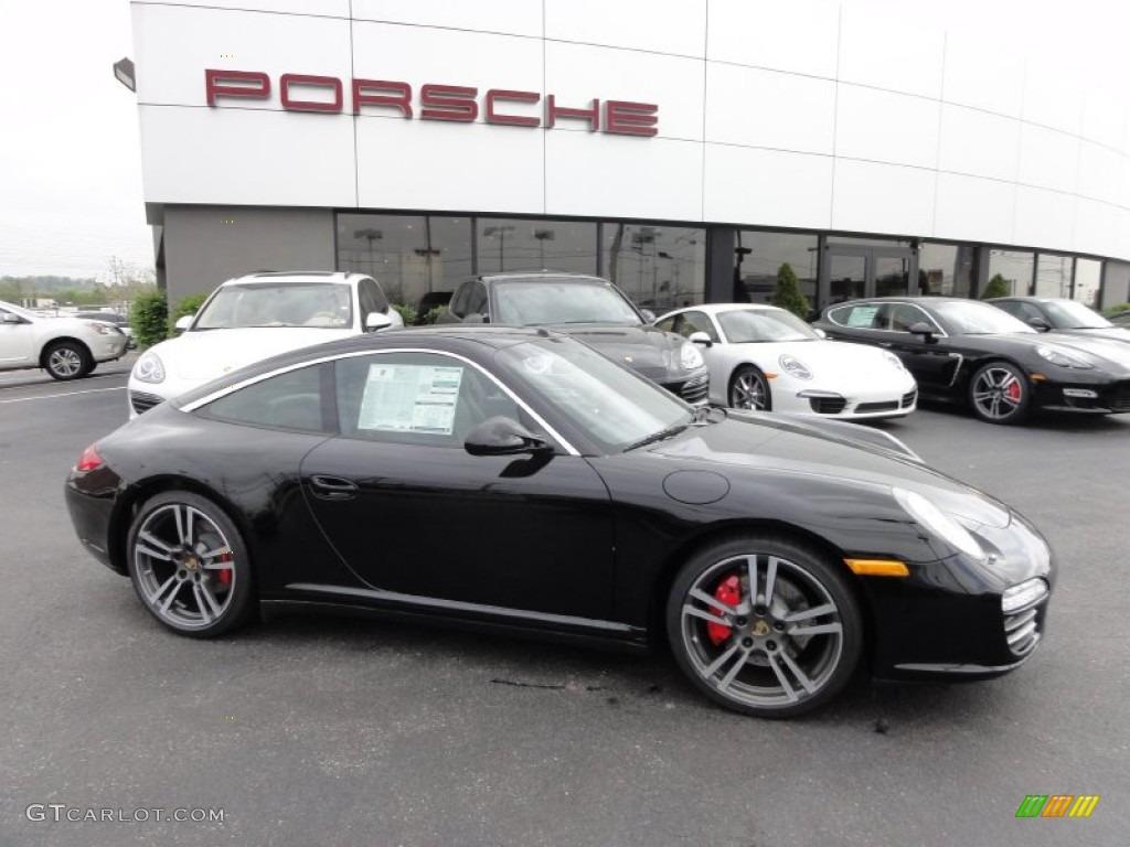 Black 2012 Porsche 911 Targa 4s Exterior Photo 64074518