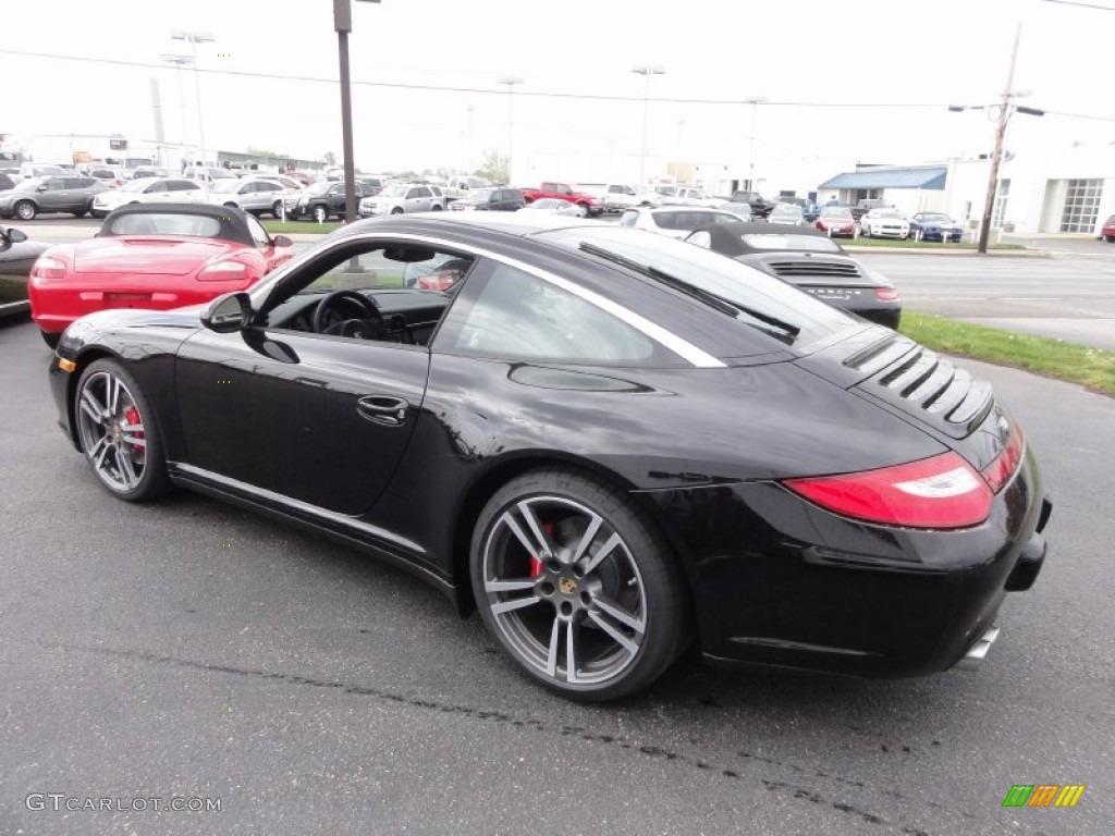 Black 2012 Porsche 911 Targa 4s Exterior Photo 64074542