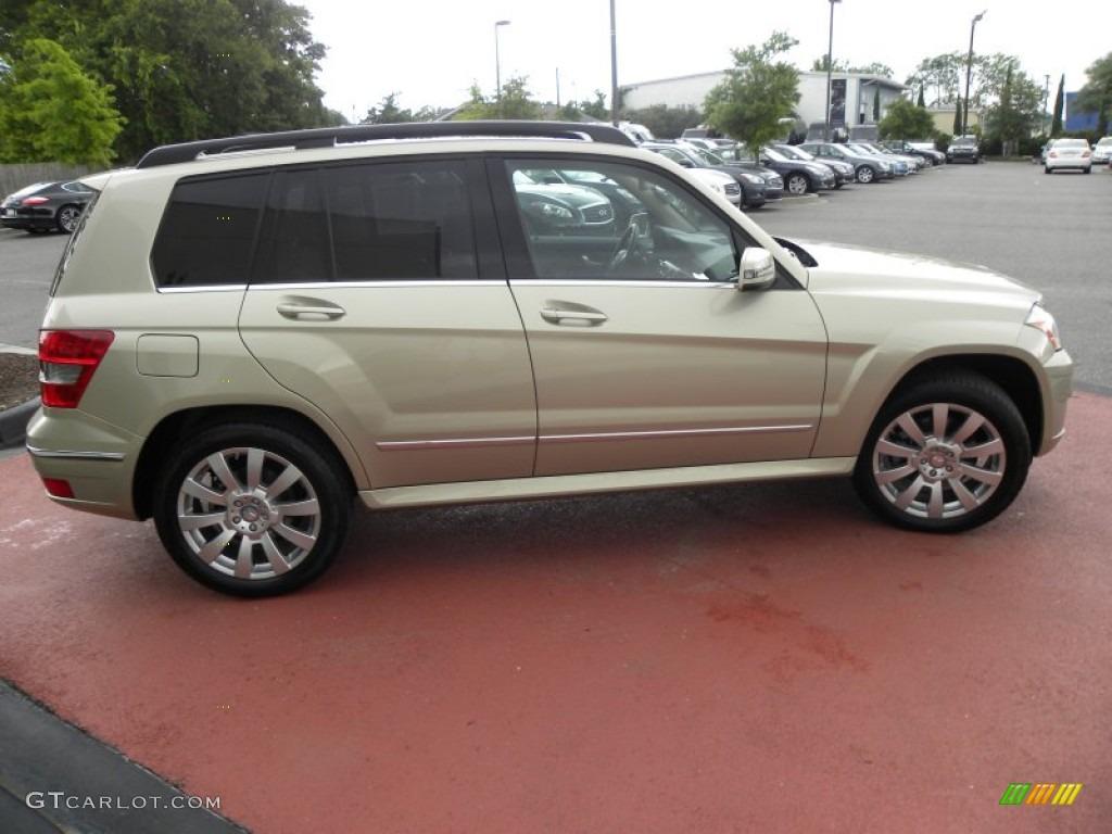 Pearl beige metallic 2012 mercedes benz glk 350 exterior for Mercedes benz 2012 glk 350
