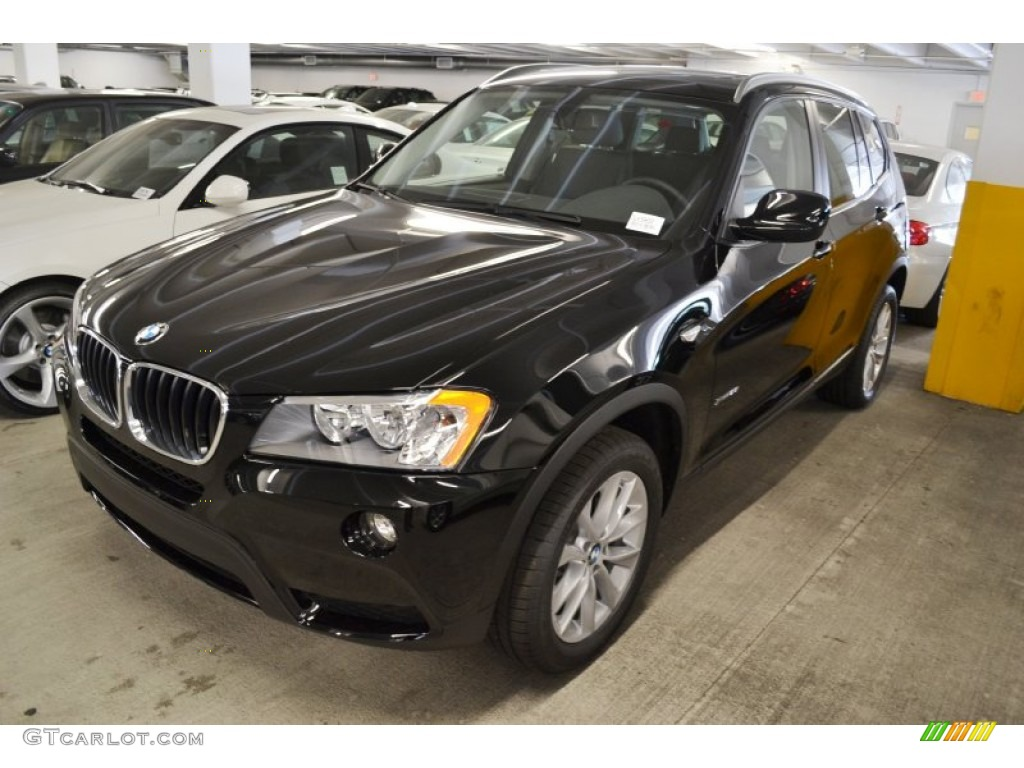 Jet Black 2013 Bmw X3 Xdrive 28i Exterior Photo 64090467