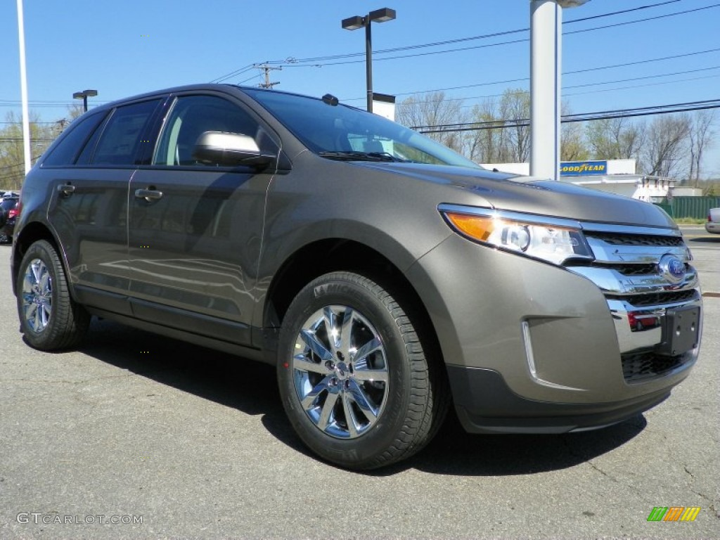 2013 mineral gray metallic ford edge sel awd 64034579 photo 4 car color galleries. Black Bedroom Furniture Sets. Home Design Ideas