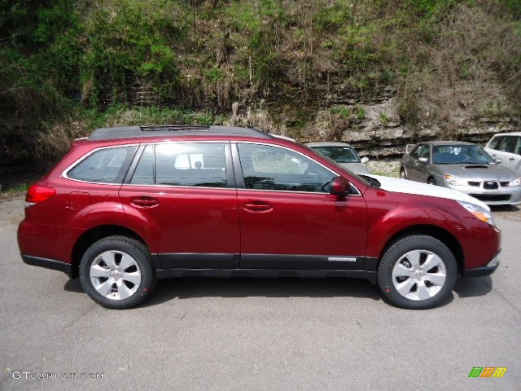 2012 ruby red pearl subaru outback 64100386 photo 4 car color galleries. Black Bedroom Furniture Sets. Home Design Ideas