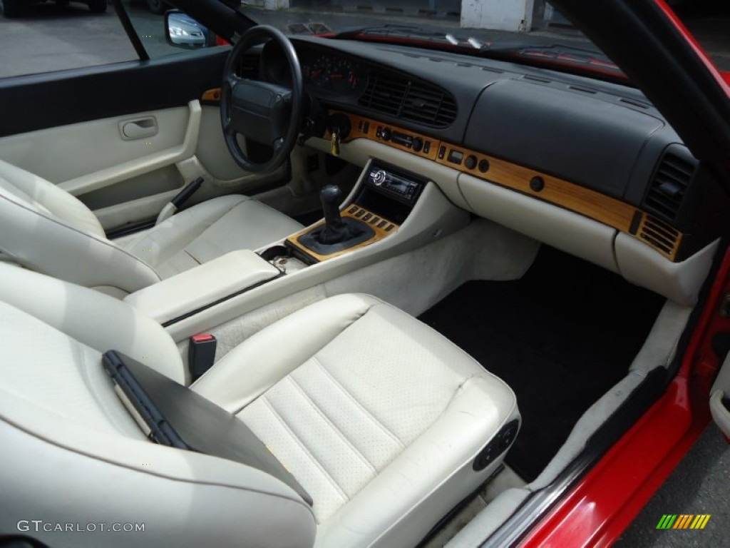 Linen interior 1990 porsche 944 s2 convertible photo for Porsche 944 interieur