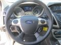 2012 White Platinum Tricoat Metallic Ford Focus SEL Sedan  photo #10