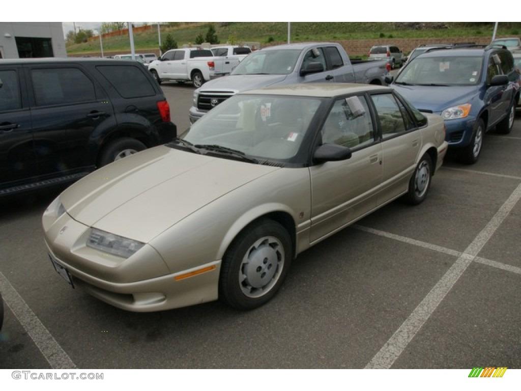 1993 s series sl2 sedan gold tan photo 4