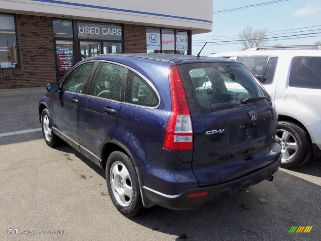2008 CR-V LX 4WD - Royal Blue Pearl / Gray photo #3