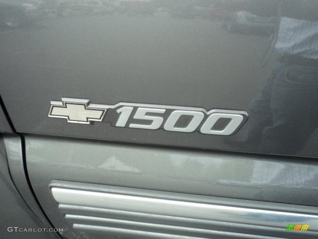 2002 Silverado 1500 LS Regular Cab 4x4 - Medium Charcoal Gray Metallic / Graphite Gray photo #20