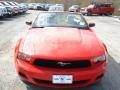 2011 Race Red Ford Mustang V6 Convertible  photo #3