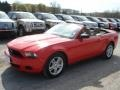 2011 Race Red Ford Mustang V6 Convertible  photo #4