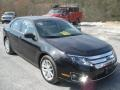 2011 Tuxedo Black Metallic Ford Fusion SEL  photo #2