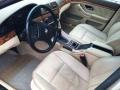 Sand Beige 1999 BMW 5 Series Interiors