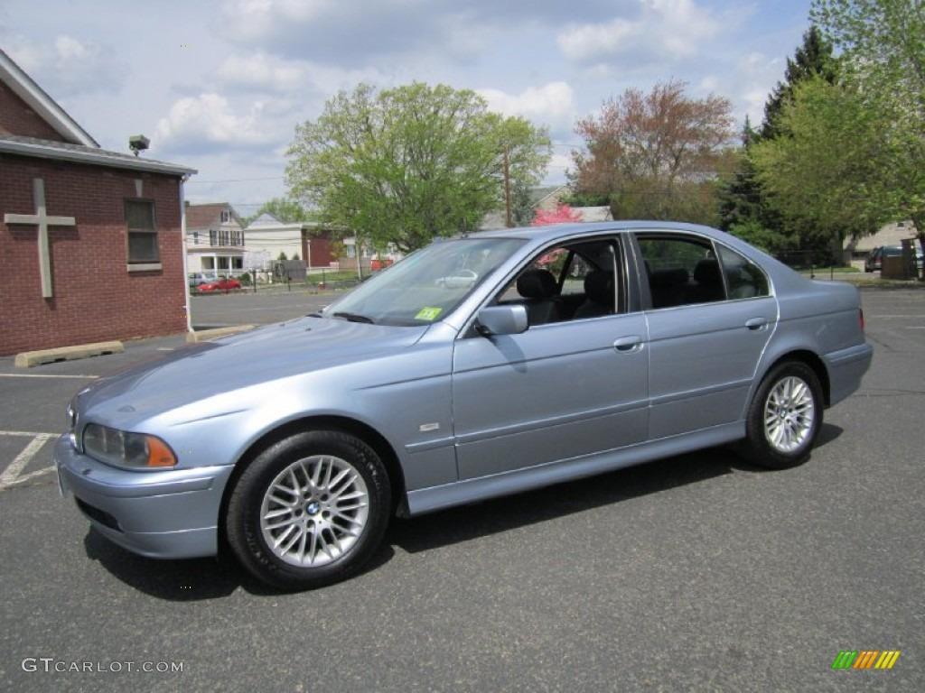 2003 Blue Water Metallic BMW 5 Series 530i Sedan #64158058 ...