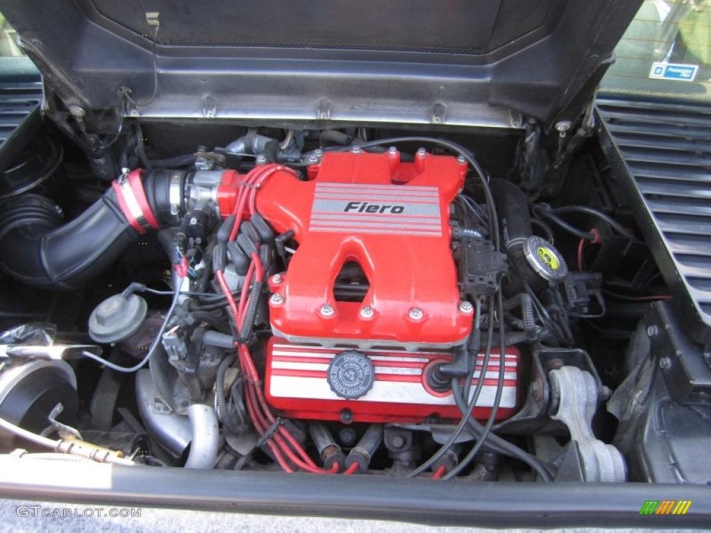 1986 pontiac fiero gt 2 8 liter ohv 12 valve l44 v6 engine photo 64165234 gtcarlot
