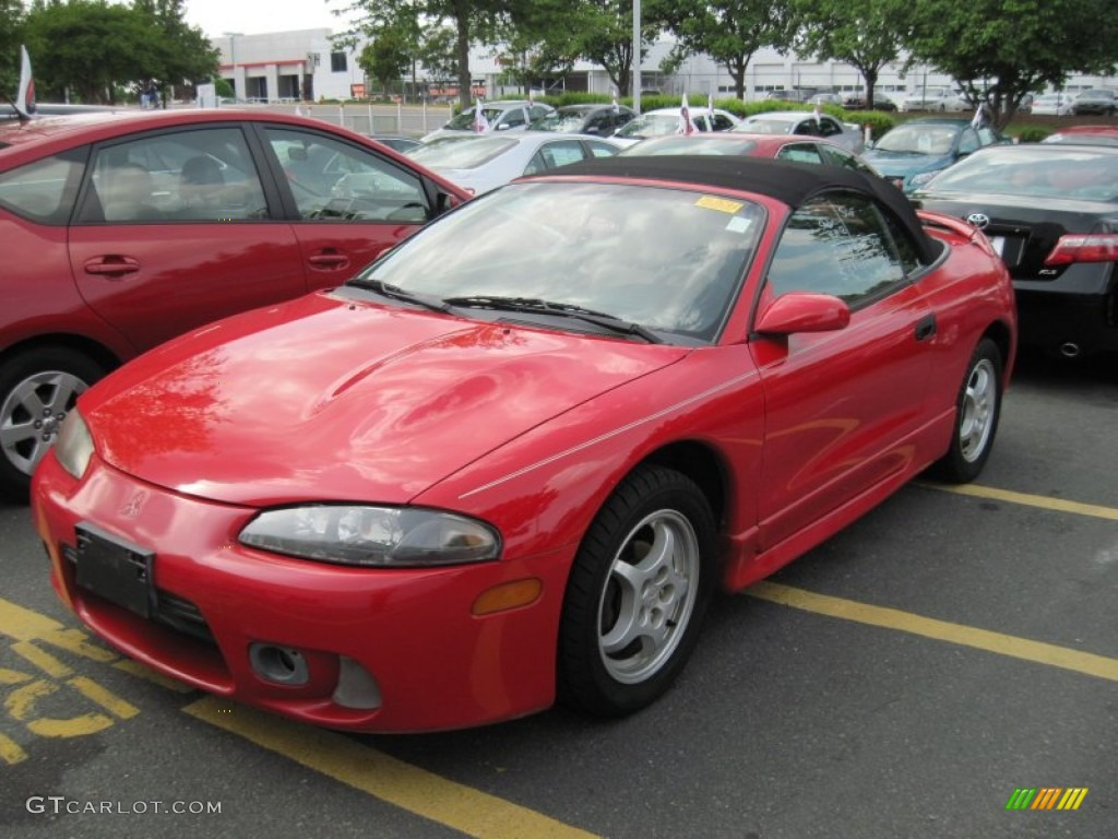 1998 Eclipse Spyder Gs Cayanne Red Pearl Tan Photo 1