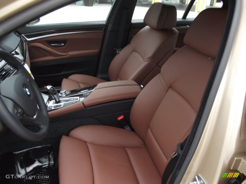 cinnamon brown interior 2012 bmw 5 series 535i sedan photo 64184122. Black Bedroom Furniture Sets. Home Design Ideas