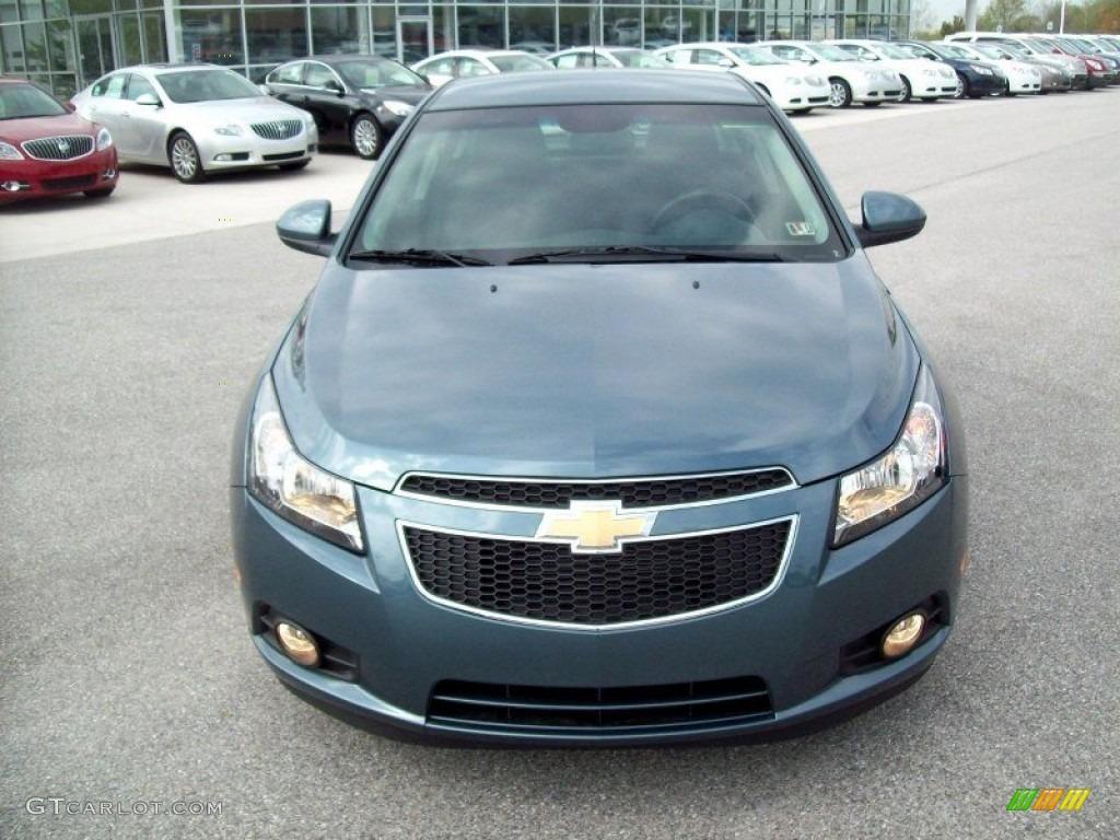 2012 Blue Granite Metallic Chevrolet Cruze Eco #64182807 ...