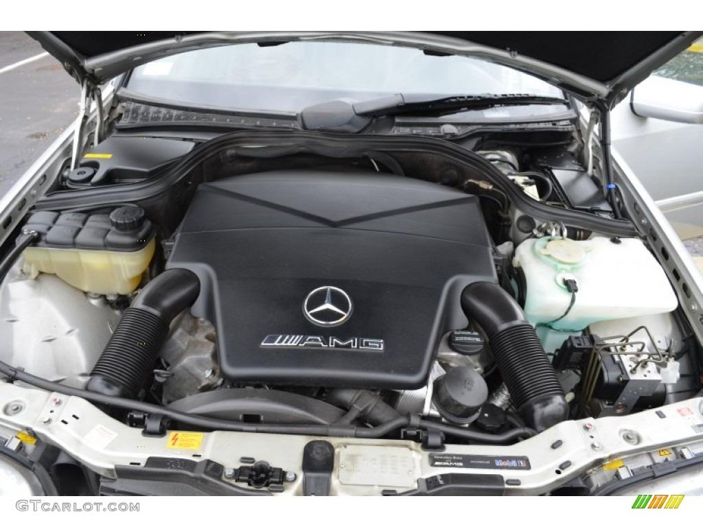 1998 mercedes benz c 43 amg 4 3 liter amg sohc 24 valve v8 for Mercedes benz v8 engine