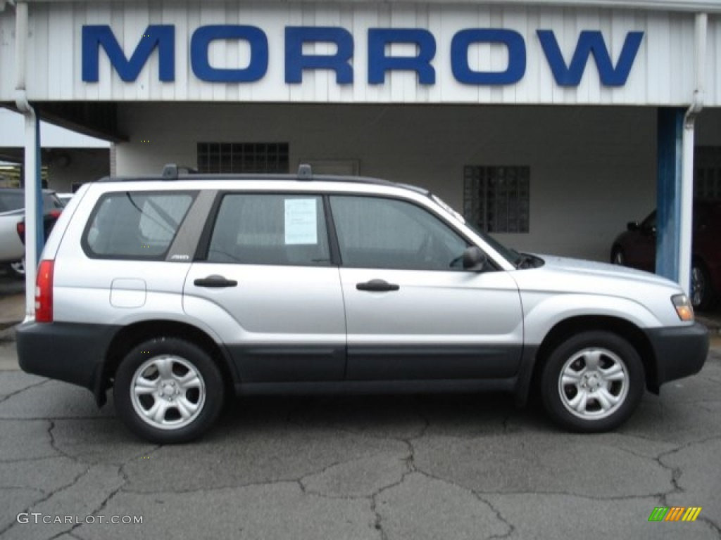 2003 forester 2 5 x platinum silver metallic gray photo 1