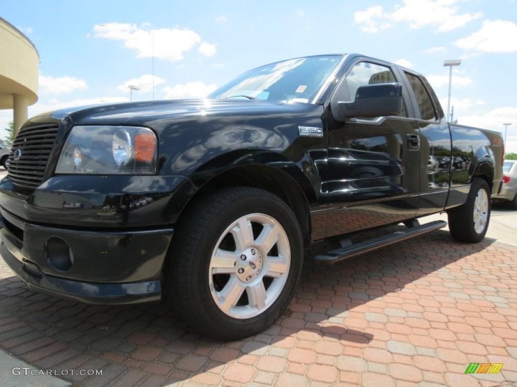 2007 black ford f150 fx2 sport supercab 64188506 car color galleries. Black Bedroom Furniture Sets. Home Design Ideas