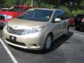 2011 Sandy Beach Metallic Toyota Sienna XLE  photo #3