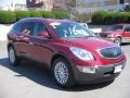2009 Red Jewel Tintcoat Buick Enclave CXL AWD  photo #8