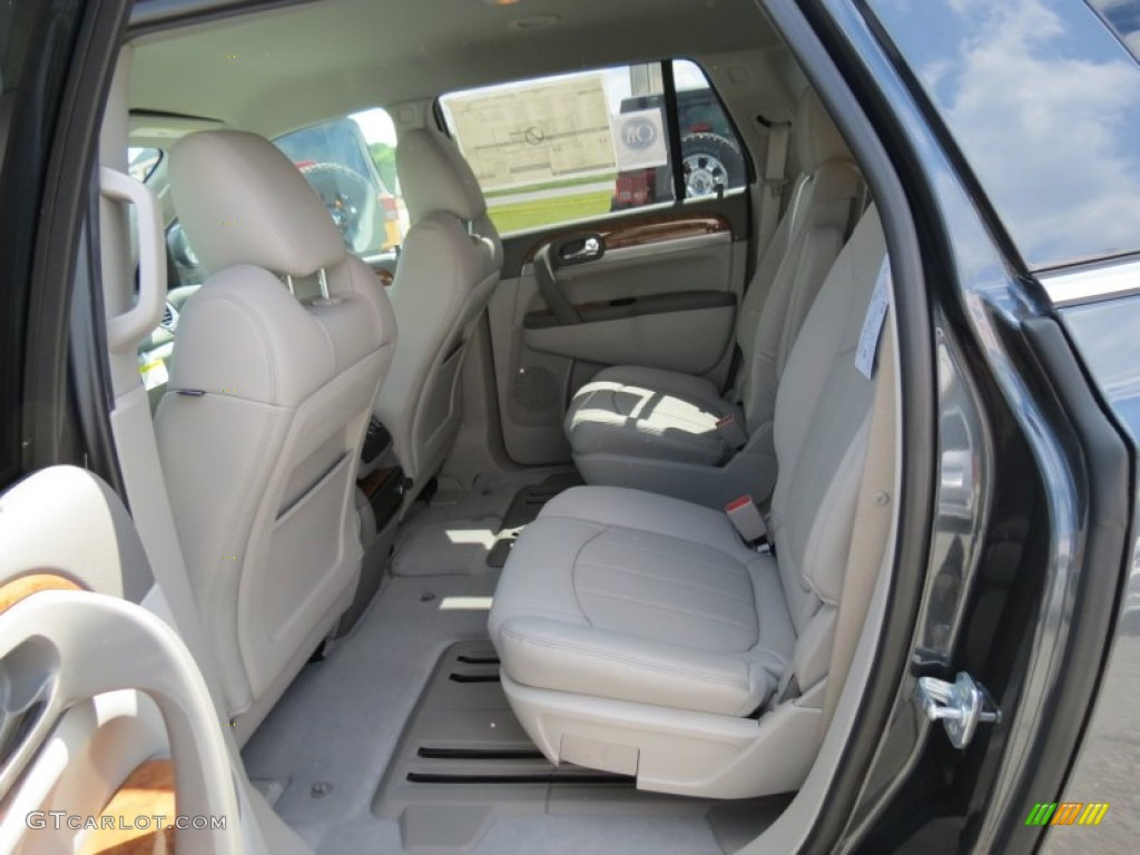 2012 Cyber Gray Metallic Buick Enclave Fwd 64228482 Photo 12 Car Color Galleries
