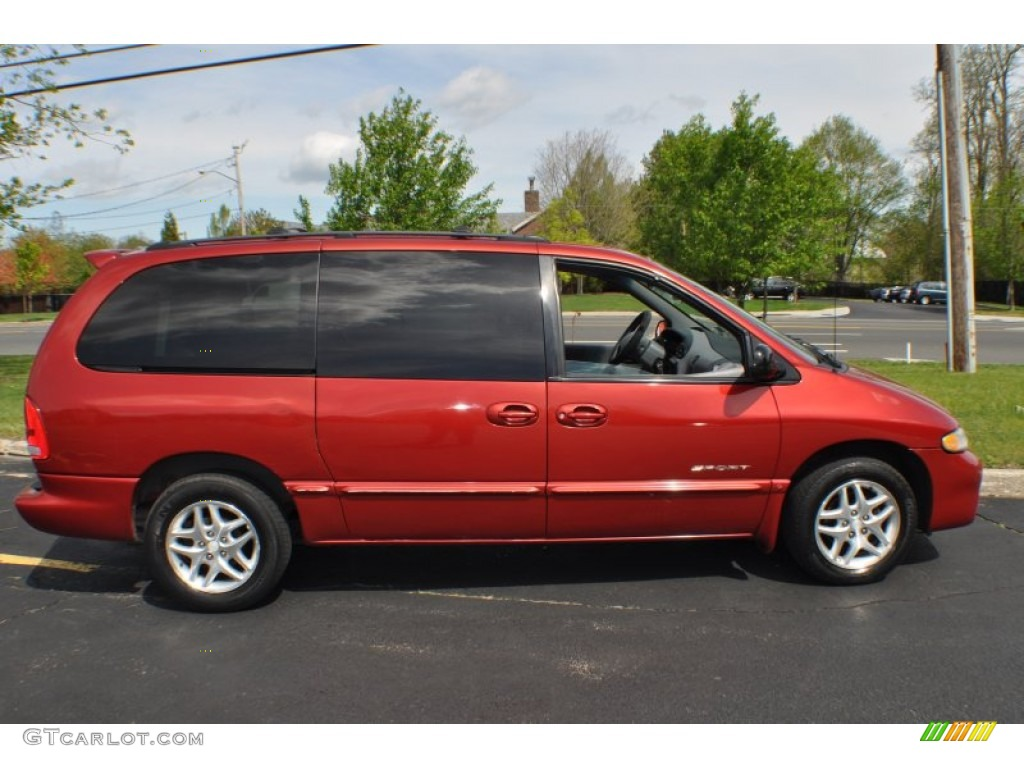 inferno red pearlcoat 2000 dodge grand caravan se exterior photo. Cars Review. Best American Auto & Cars Review