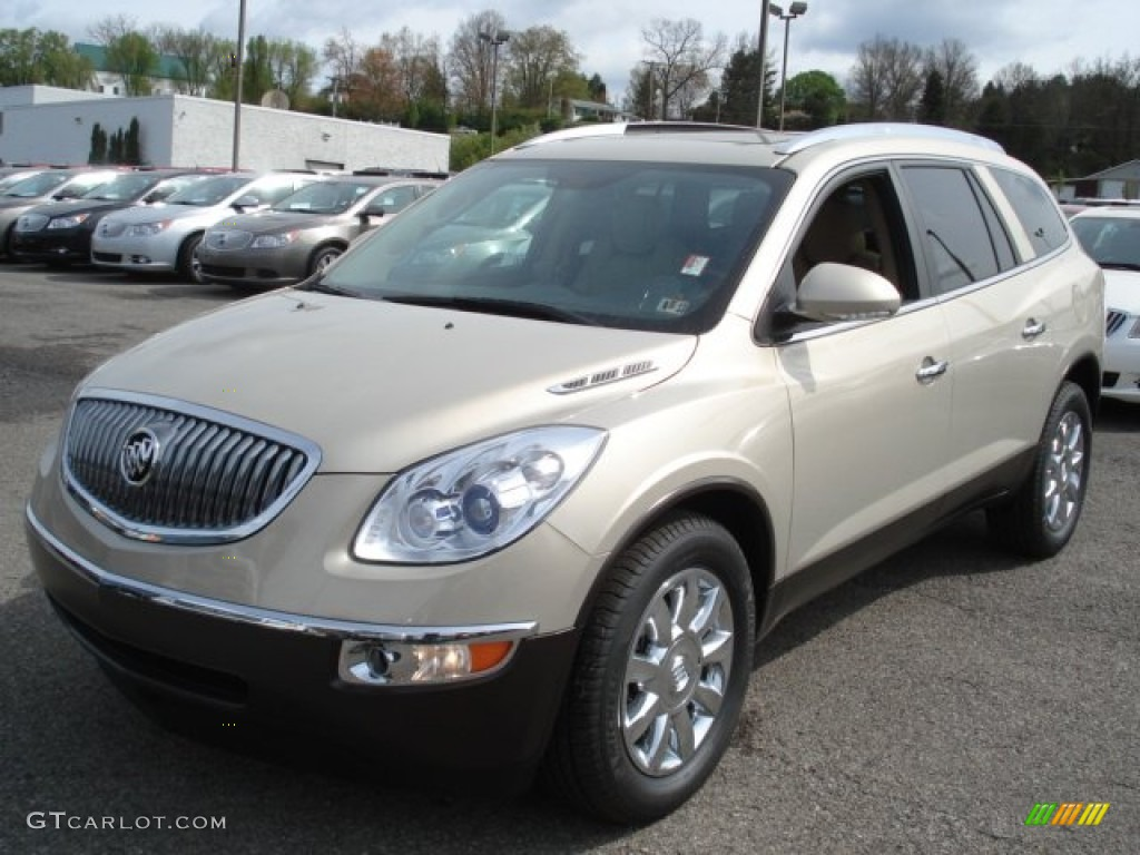 Gold Mist Metallic 2012 Buick Enclave Awd Exterior Photo 64236267