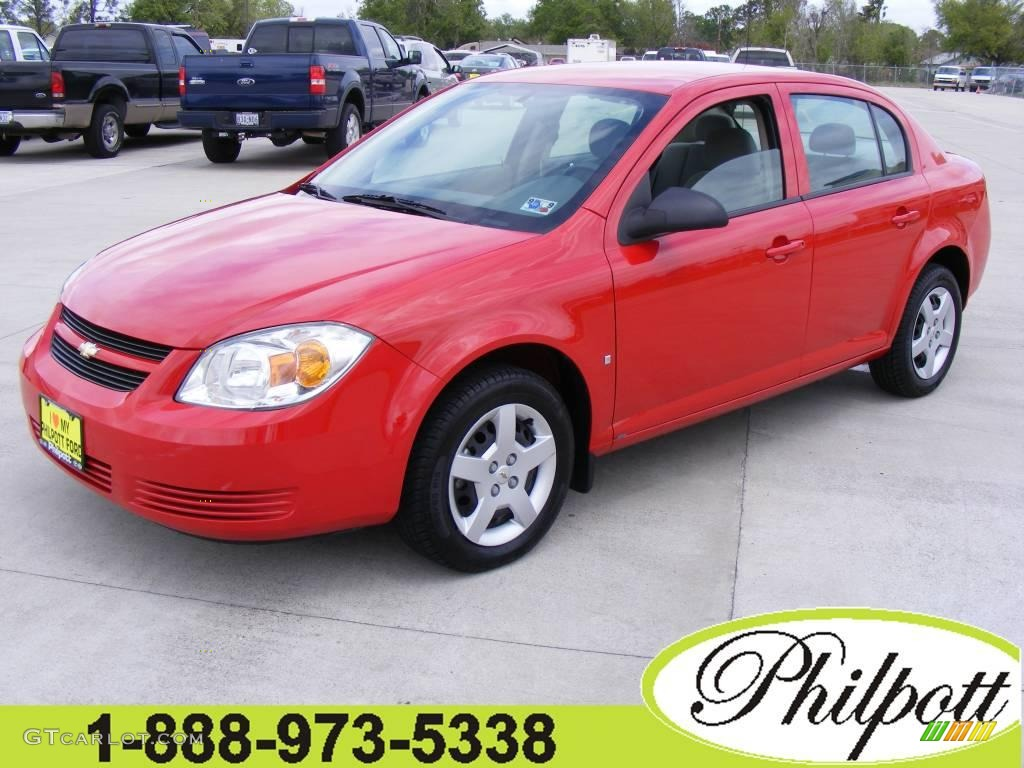 Victory Red Chevrolet Cobalt