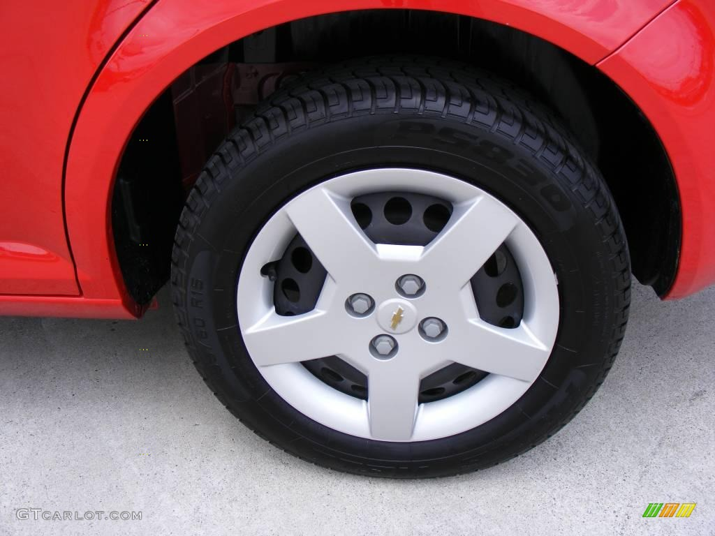 2007 Cobalt LS Sedan - Victory Red / Gray photo #12