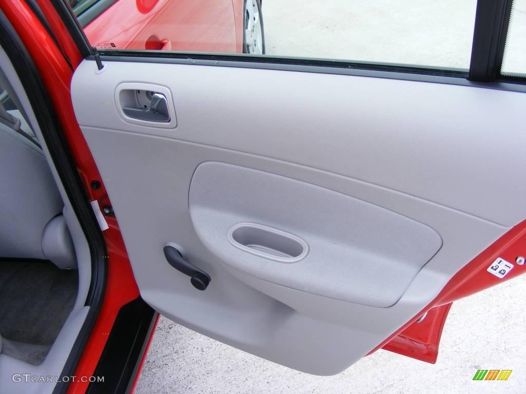 2007 Cobalt LS Sedan - Victory Red / Gray photo #22