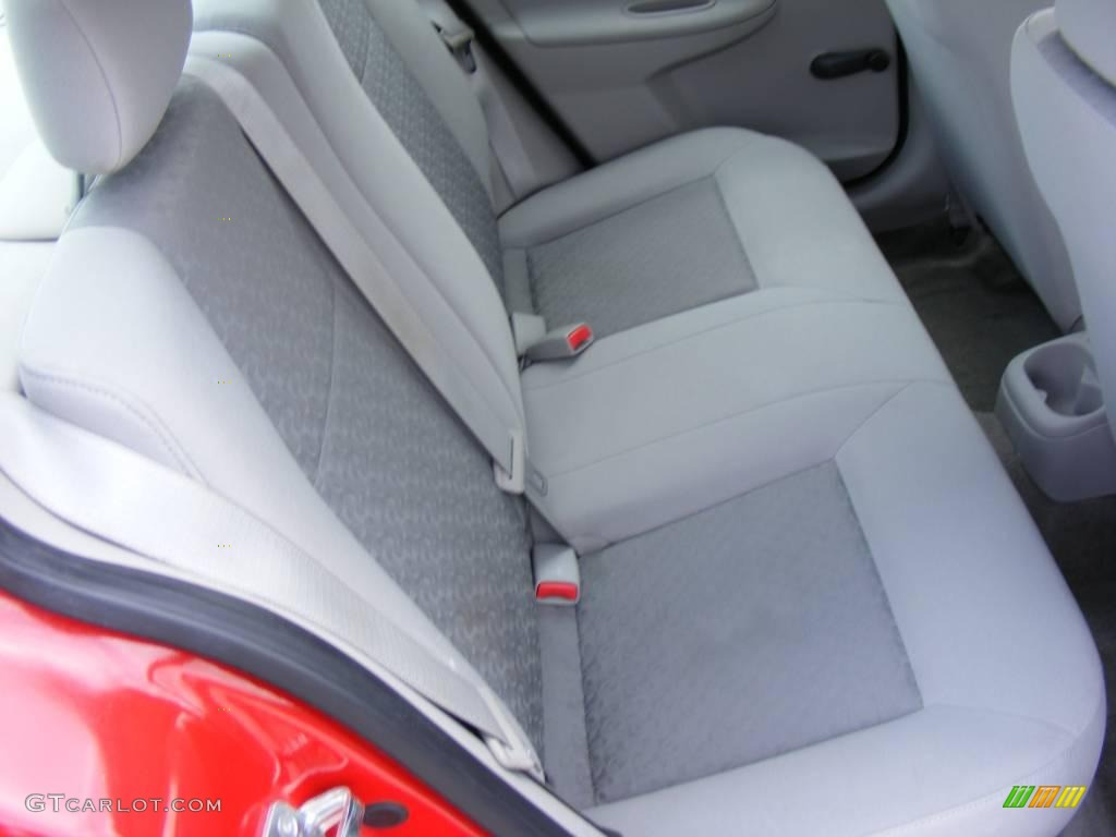 2007 Cobalt LS Sedan - Victory Red / Gray photo #23