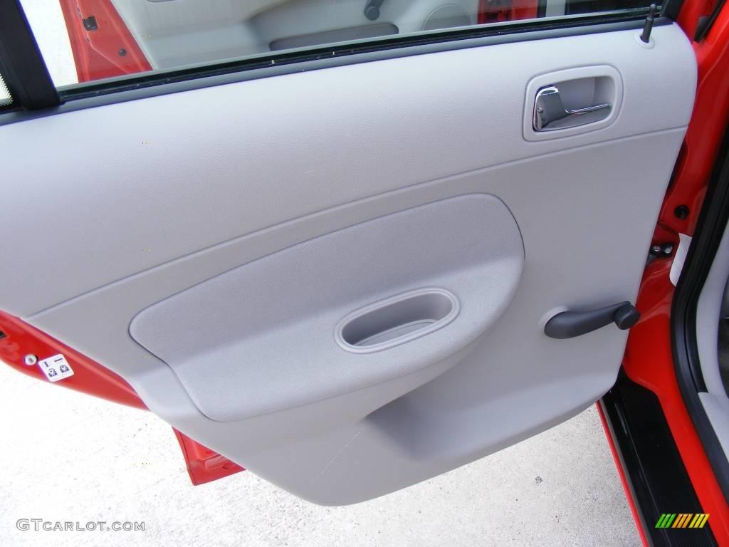 2007 Cobalt LS Sedan - Victory Red / Gray photo #25
