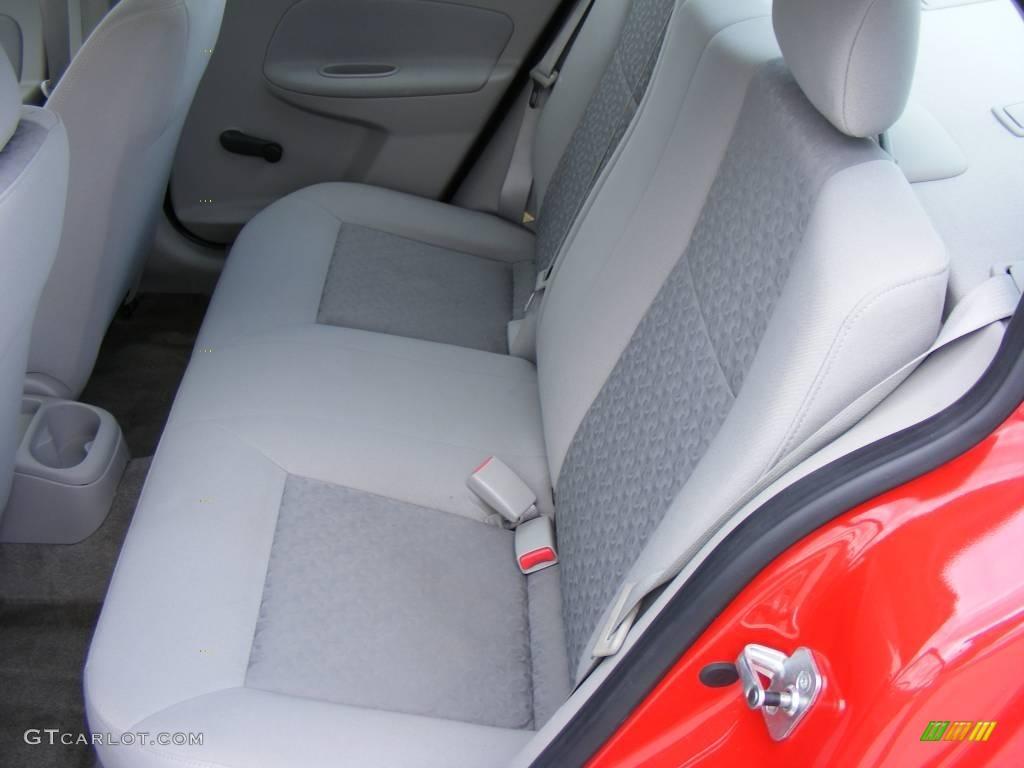 2007 Cobalt LS Sedan - Victory Red / Gray photo #26