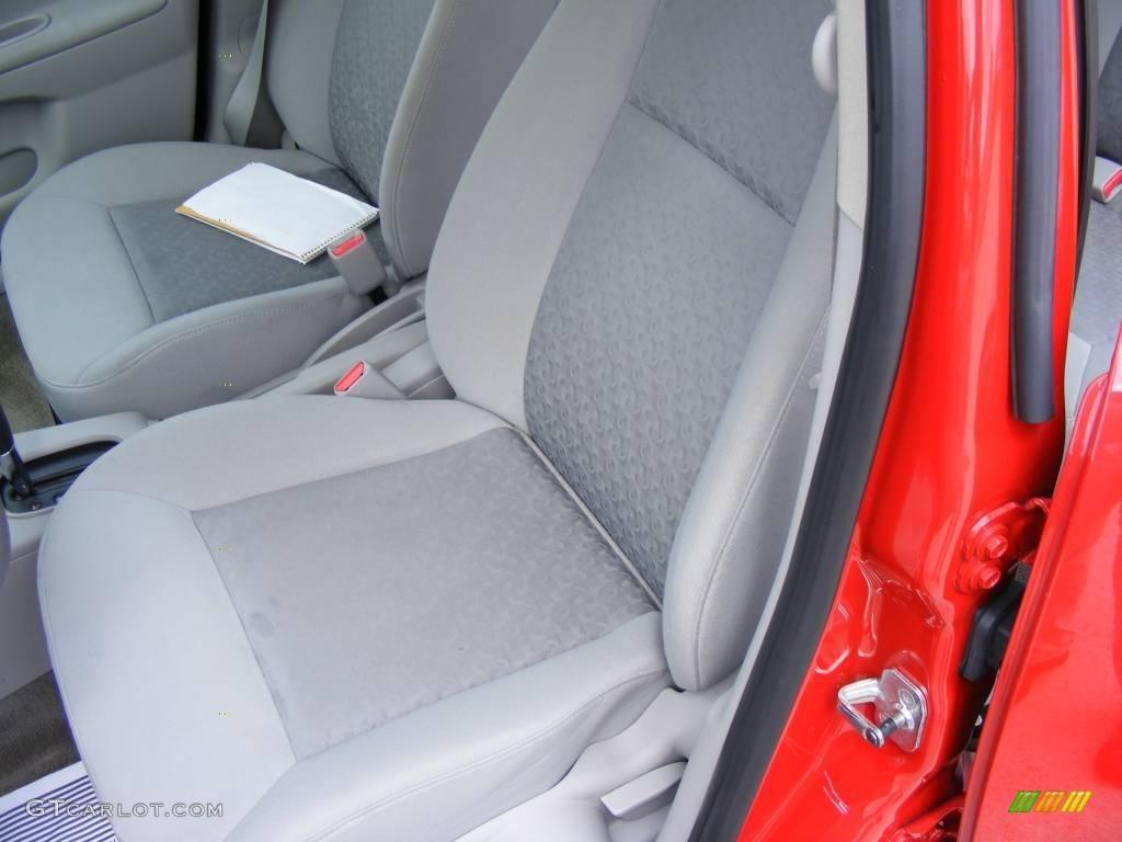 2007 Cobalt LS Sedan - Victory Red / Gray photo #28