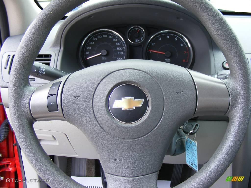 2007 Cobalt LS Sedan - Victory Red / Gray photo #34