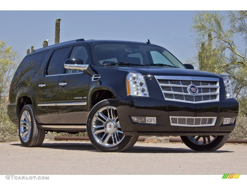 Black Raven 2012 Cadillac Escalade Esv Platinum Awd