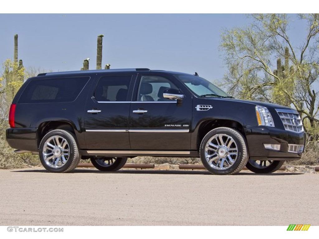 black raven 2012 cadillac escalade esv platinum awd. Black Bedroom Furniture Sets. Home Design Ideas