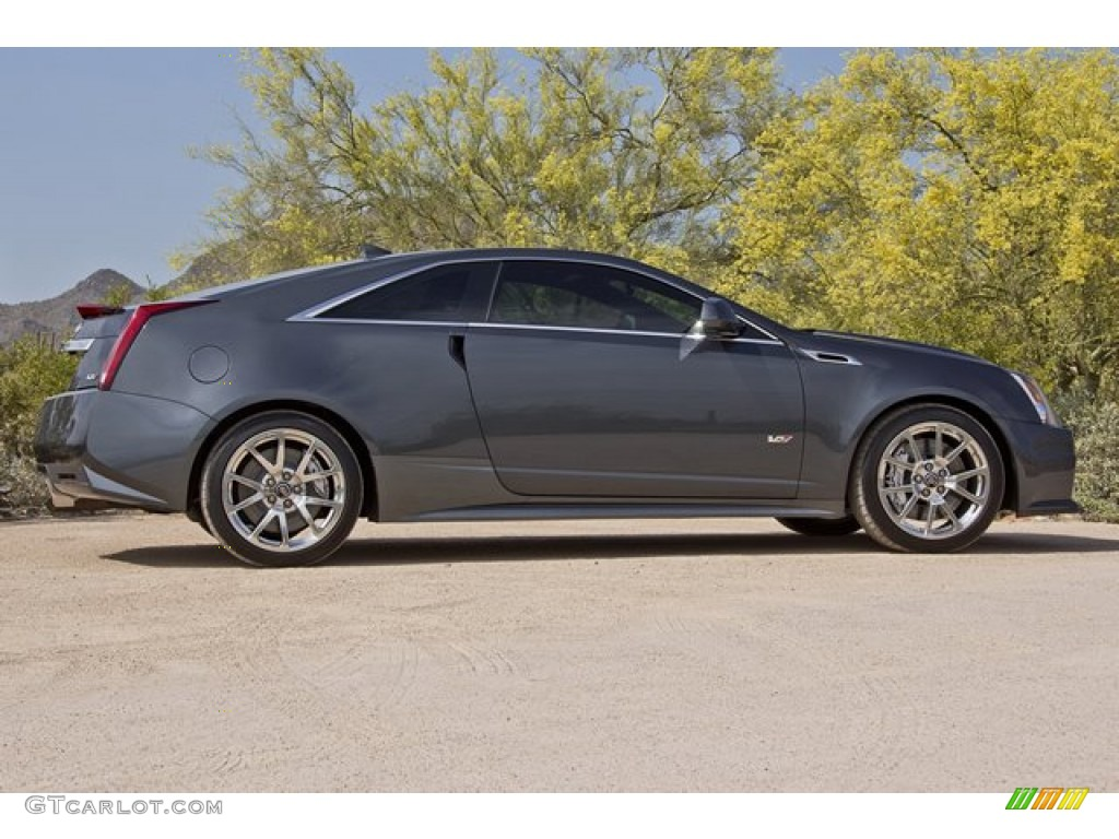 Thunder Gray Chromaflair 2012 Cadillac Cts V Coupe