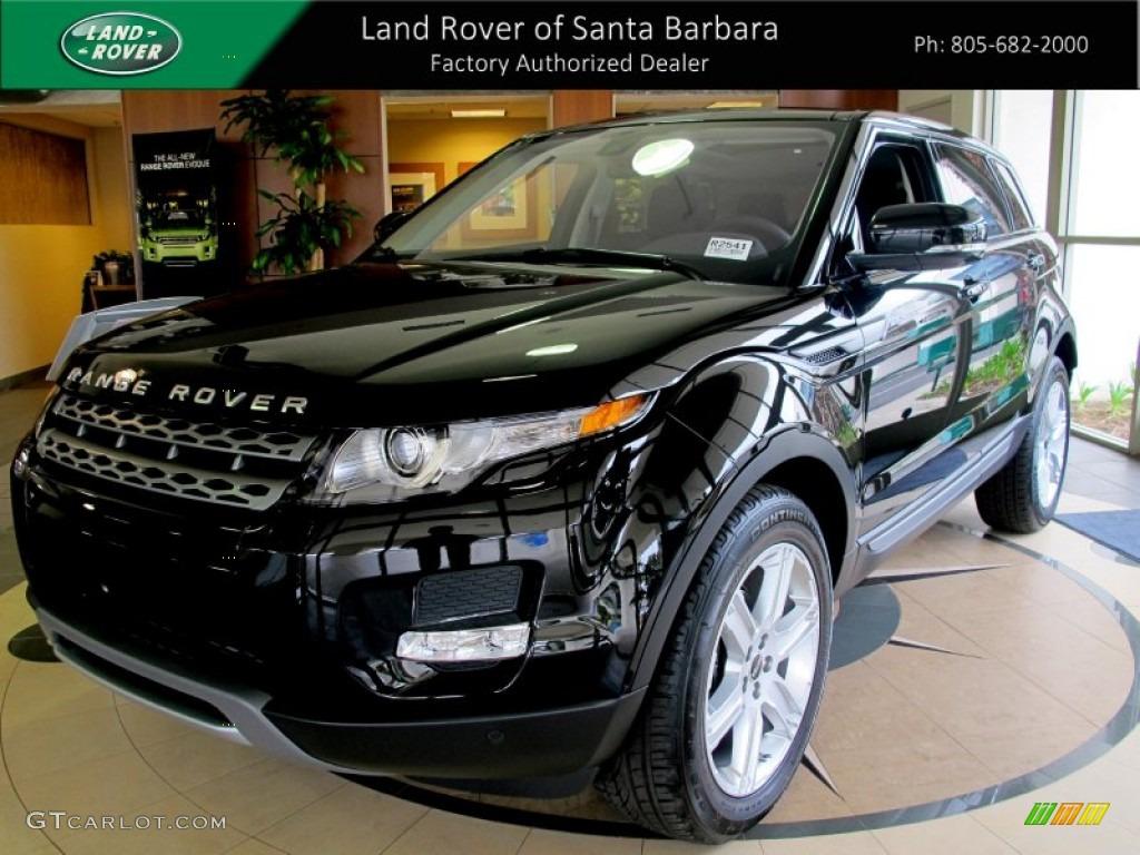 2012 Sumatra Black Metallic Land Rover Range Rover Evoque Pure 64228320 Car