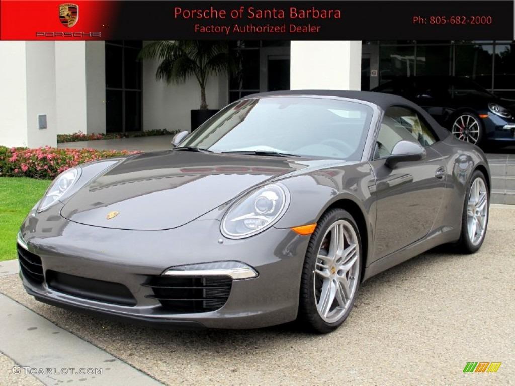 Porsche 911 Agate Grey Metallic 2012 Agate Grey Metallic Porsche New 911 Carrera S Carrera