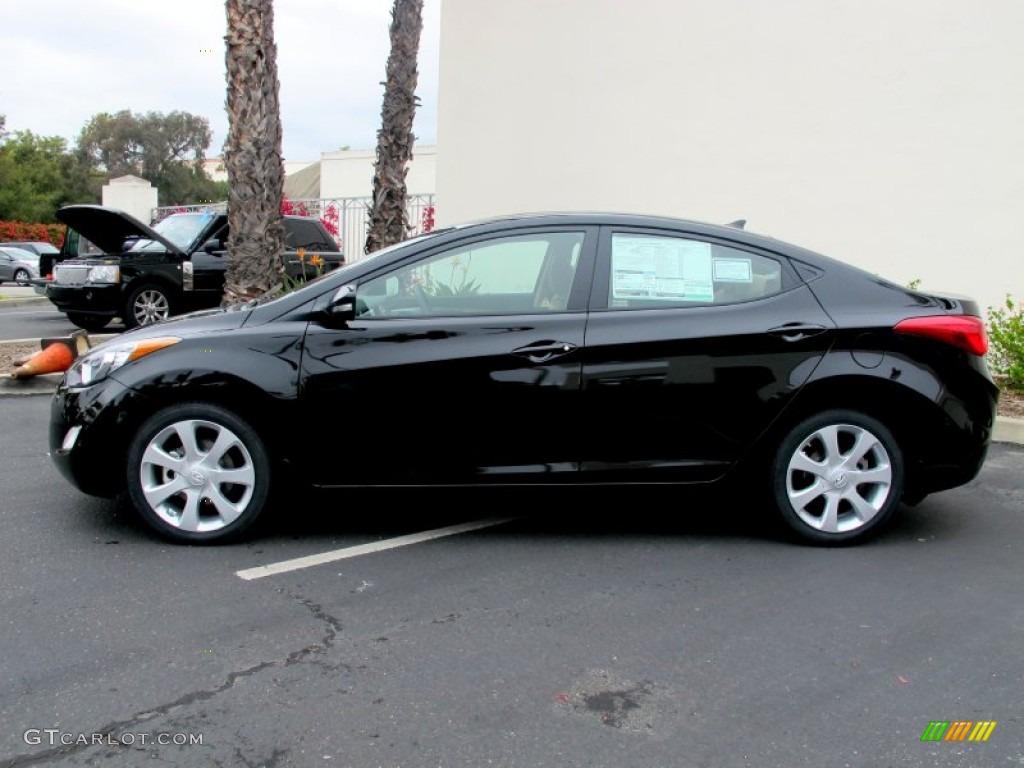 Black 2013 Hyundai Elantra Limited Exterior Photo 64253025 Gtcarlot Com