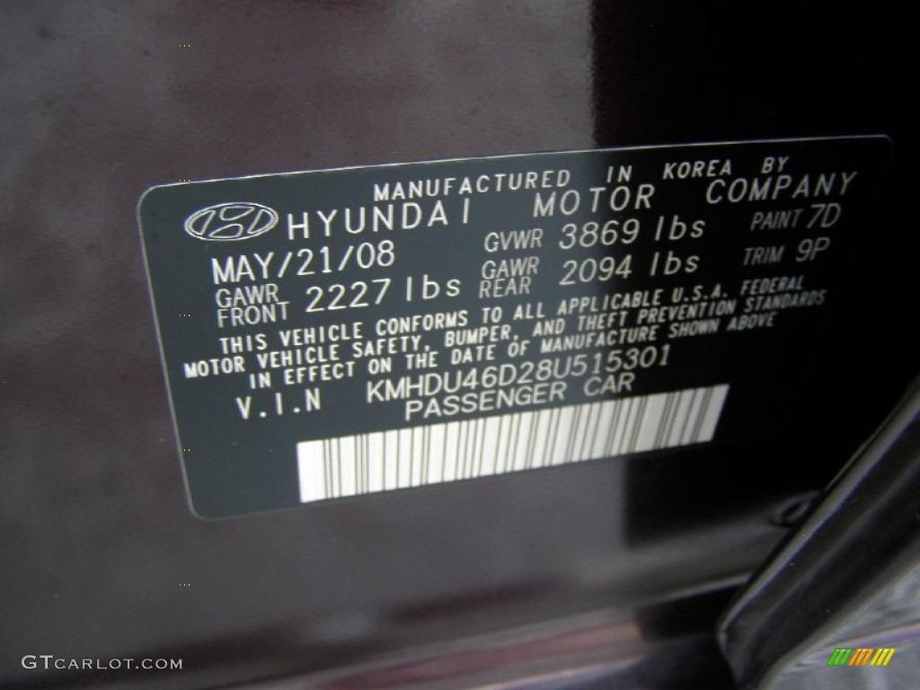 on 1999 Hyundai Elantra Engine