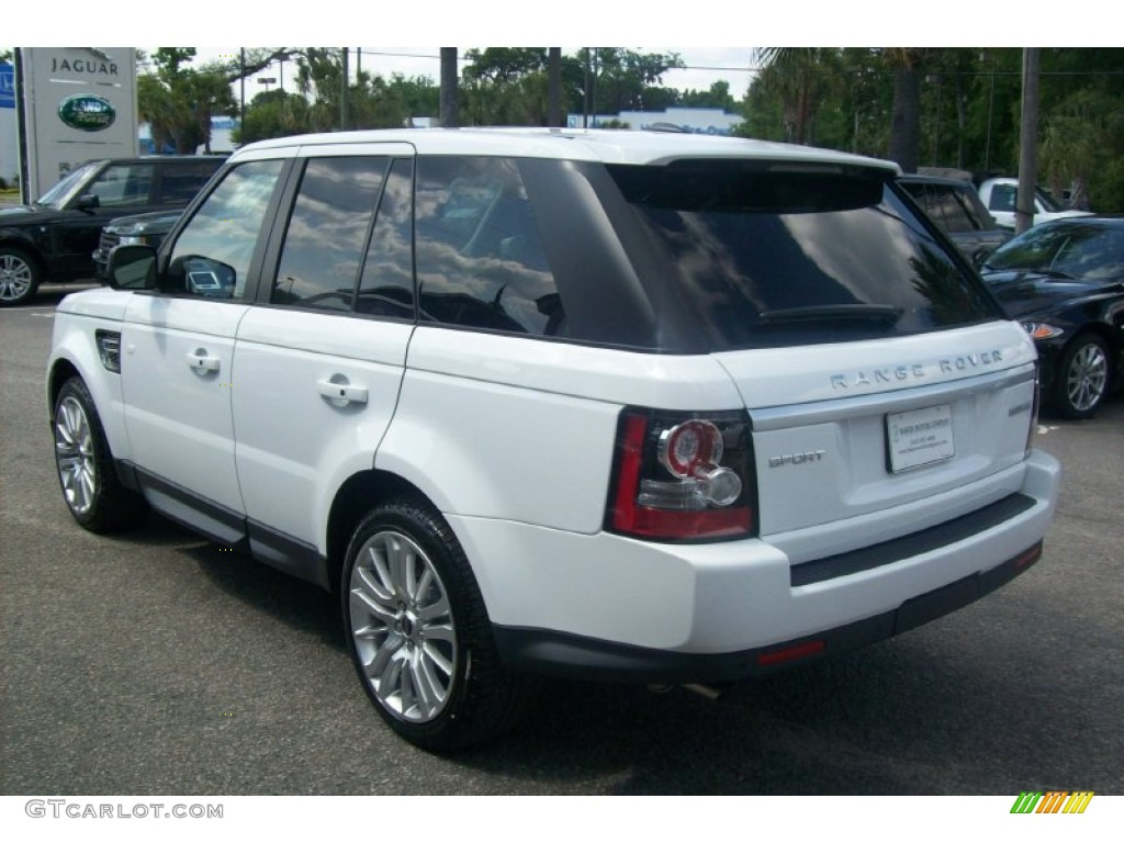 2012 fuji white land rover range rover sport hse lux. Black Bedroom Furniture Sets. Home Design Ideas