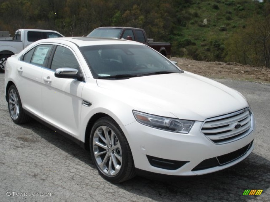 white platinum tri coat 2013 ford taurus limited awd exterior photo. Cars Review. Best American Auto & Cars Review