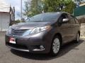 2012 Predawn Gray Mica Toyota Sienna Limited AWD  photo #4