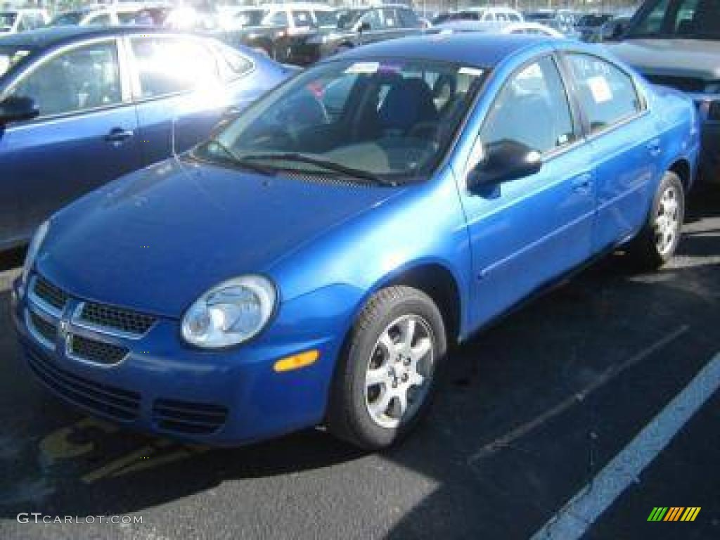 2005 electric blue pearlcoat dodge neon sxt #6417842 | gtcarlot