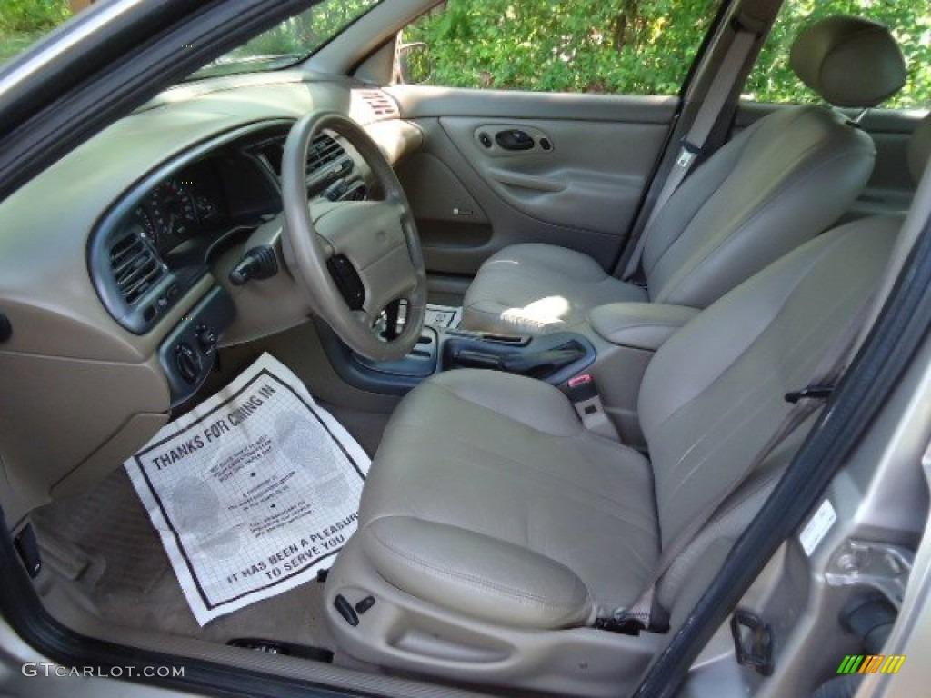 Beige Interior 1996 Ford Contour LX Photo 64270370